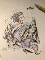 InkTober2017 Day 15 by redisoj