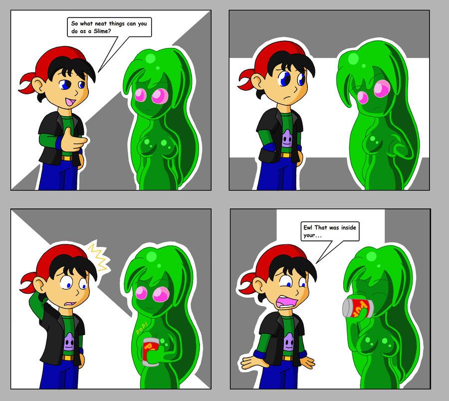Slime Girl Comic 1 by Sin-R