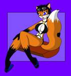 Commission: Fursona's Bikini