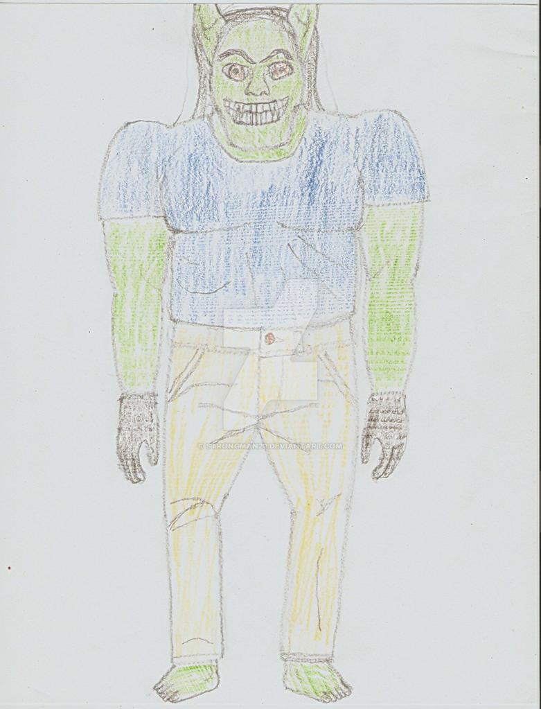Male Hungathar by Strongman20