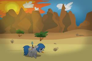 Parched Desert by LieutenantKyohei