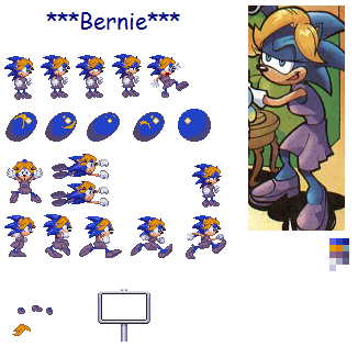sonic mother comics - Bernie by sonicnews