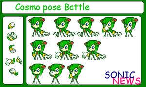 Cosmo pose battle