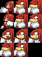 Knuckles FaceSet RpgMaker 2003 by sonicnews