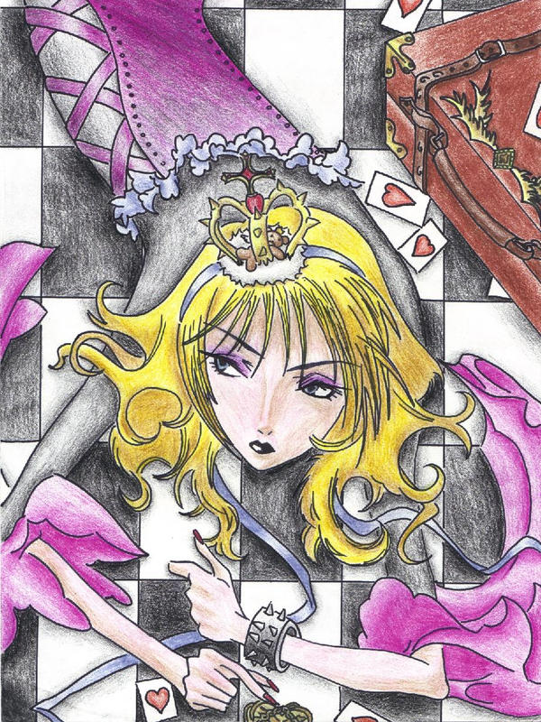 Ai Queen of Hearts-Colour by Ceres17