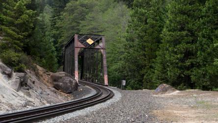 Train Track Bridge by Luminous-Dark