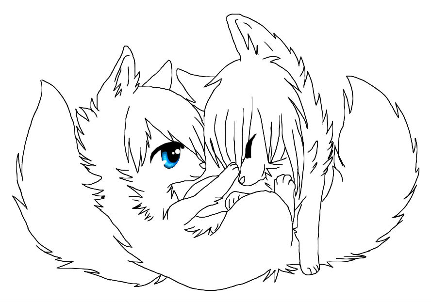 Line Drawing Couple : Wolf couple drawings pictures to pin on pinterest daddy