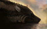 [Speedpaint] Sinking in with nowhere left to go