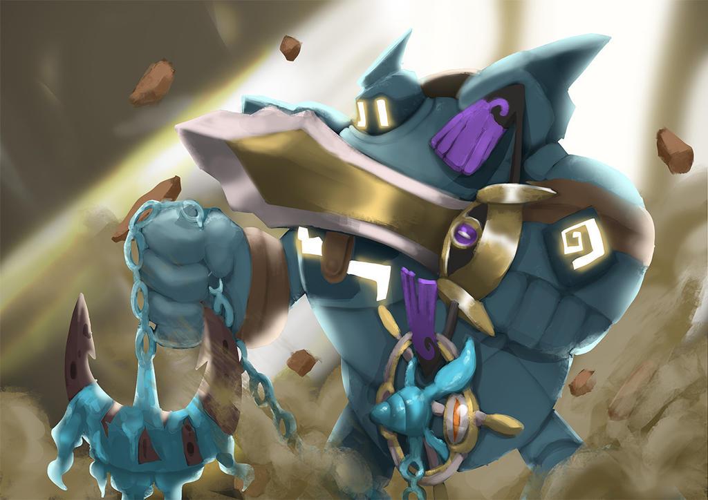 Warrior of Kalos by atorot