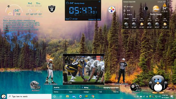 Steelers VS  Raiders