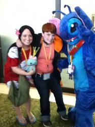 Me with Lilo and Stitch! by SamXNaruto