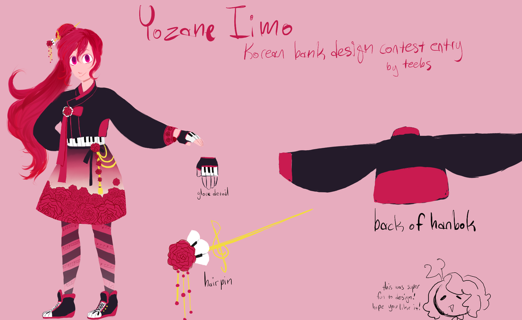 Yozane Iimo Korean bank design contest entry by funtomTV