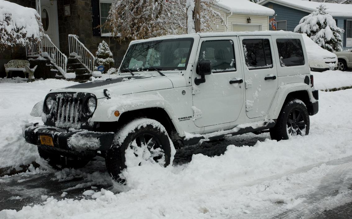 2014 Jeep Wrangler - Altitude Edition - White by jackthetab