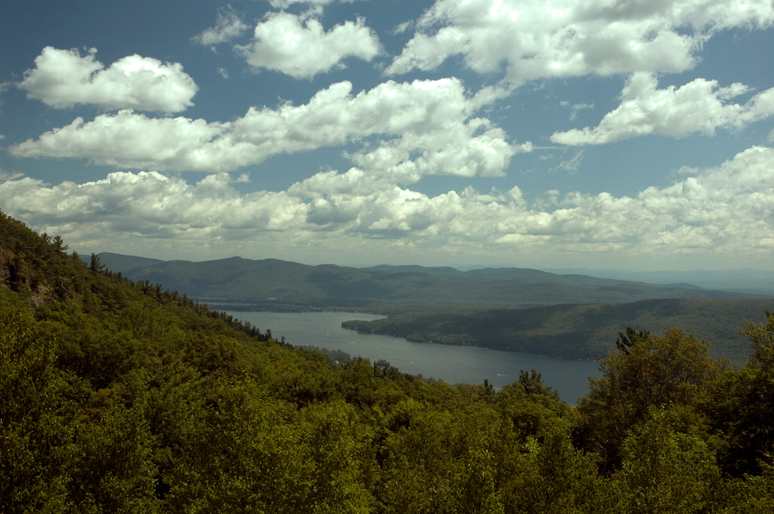 Lake George Prospect Mountain by jackthetab
