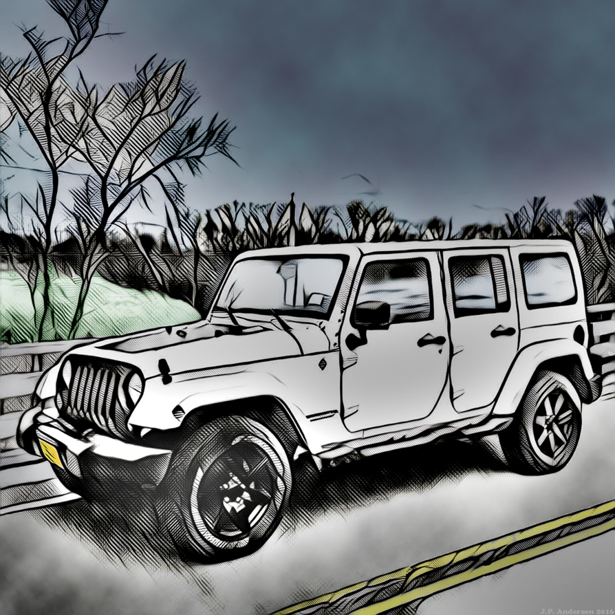 My Jeep On A Cold Autumn Day By Jackthetab On DeviantArt