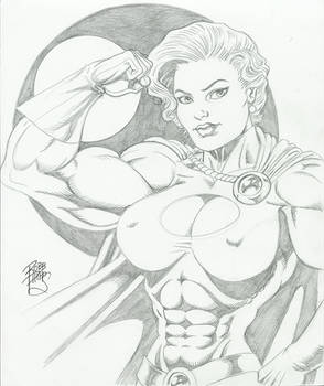 2nd buff Powergirl by Robb Phipps