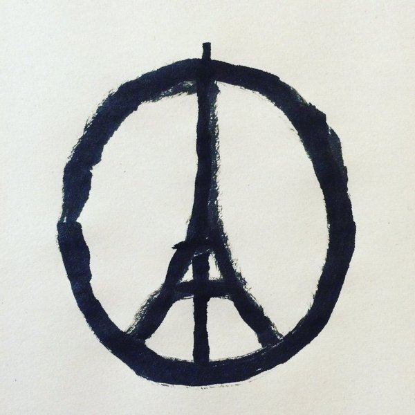 Solidarity with Paris by zefly88