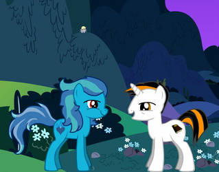 Parastar Sarasva and Sapphire Together (Derped)