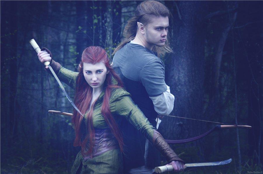 Tauriel and Legolas by JuDKo