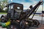 Antique tow truck