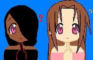 nadesko and hiroshi confused by Nagehiko-Kun
