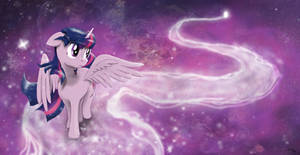 Twilight Sparkle - Beyond the Stars by StephanCrowns