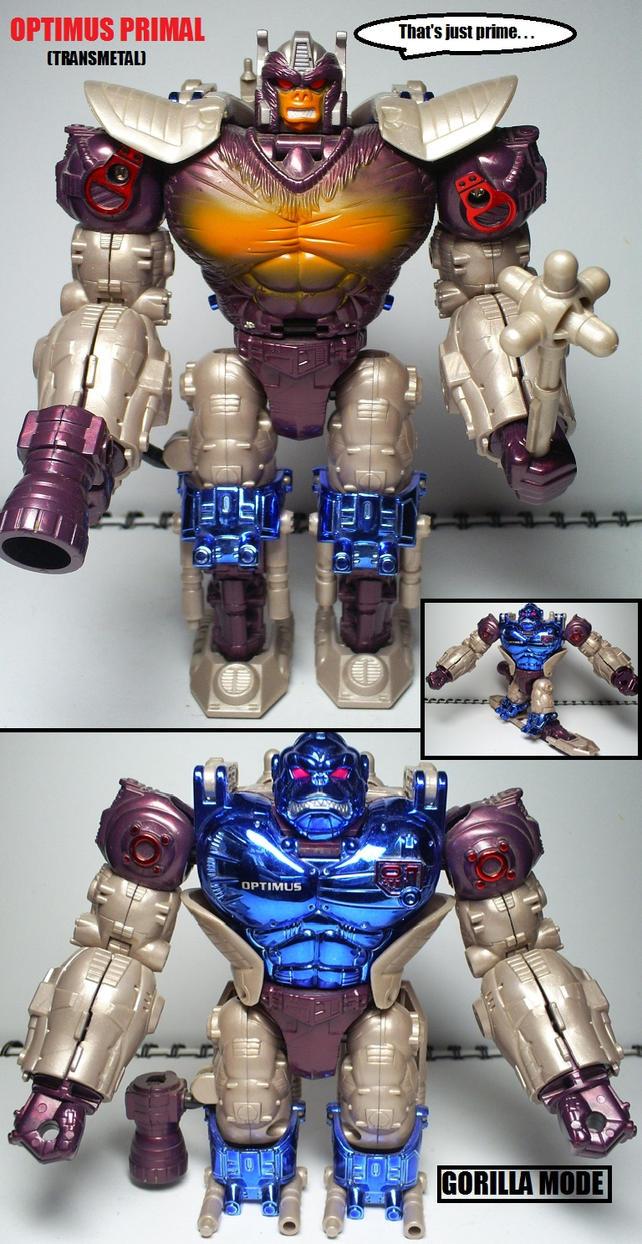 beast wars figures optimus primal transmetal by