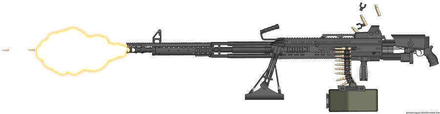 HAC Ripper-Snapper .50 BMG Heavy Machine gun.