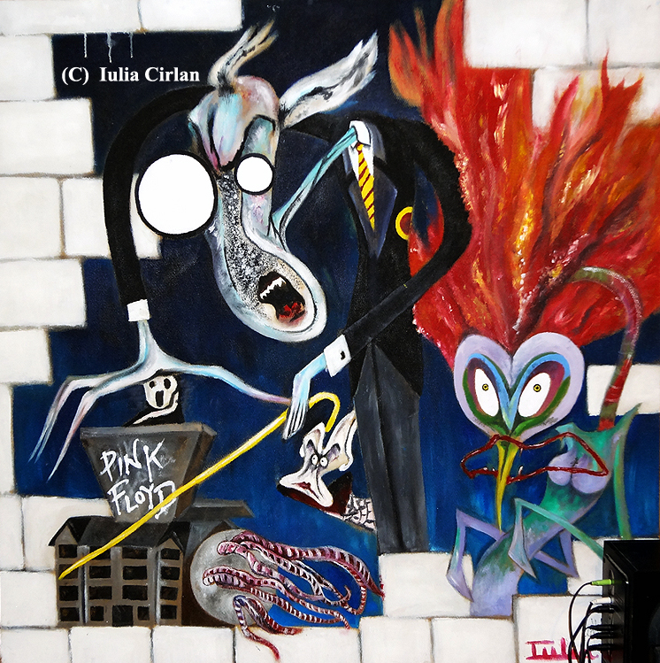 58 Ilustraciones De Pink Floyd