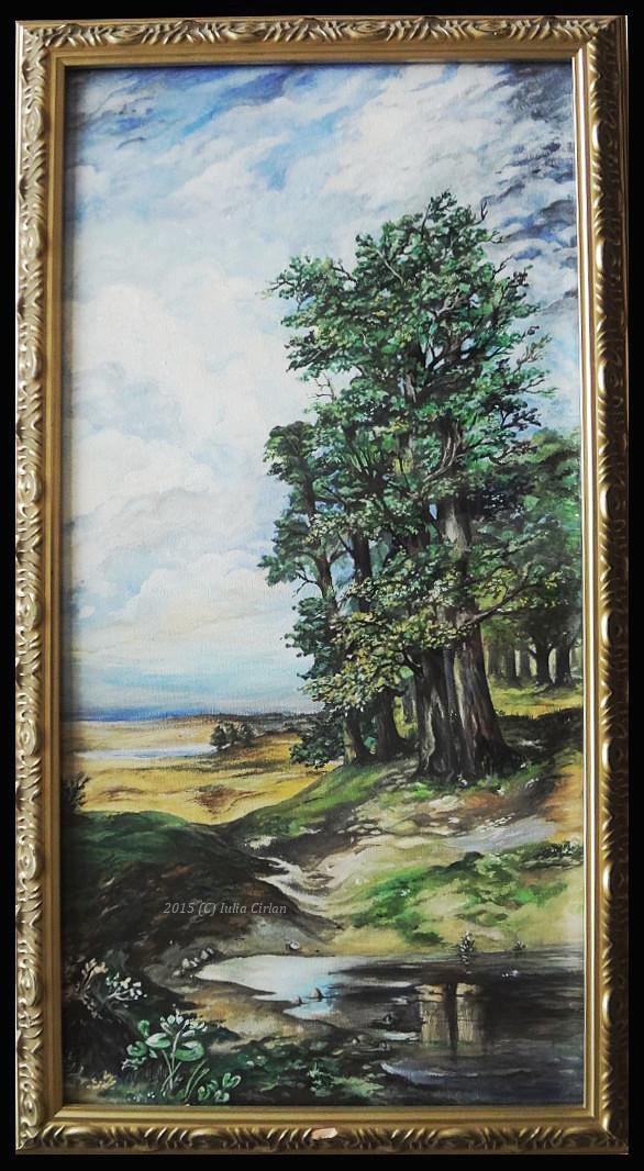 Aleksey Savrasov - Summer Landscape With Oaks by classicfan