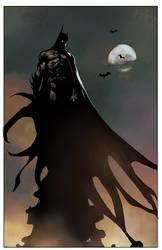 Batman01,flat by obazaldua