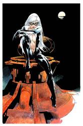 Black Cat01,flat,color