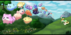 [Hanging-Lights] Spring Migration Prompt