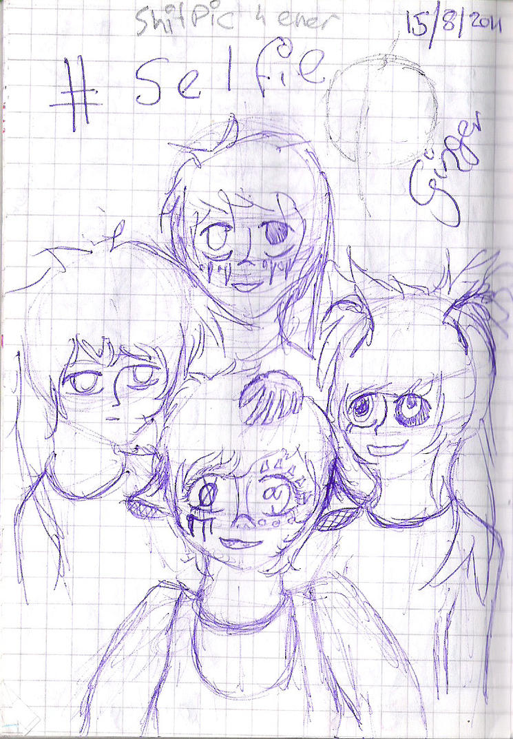 summer sketches 14 or 15 i dont know by theredheaddevil