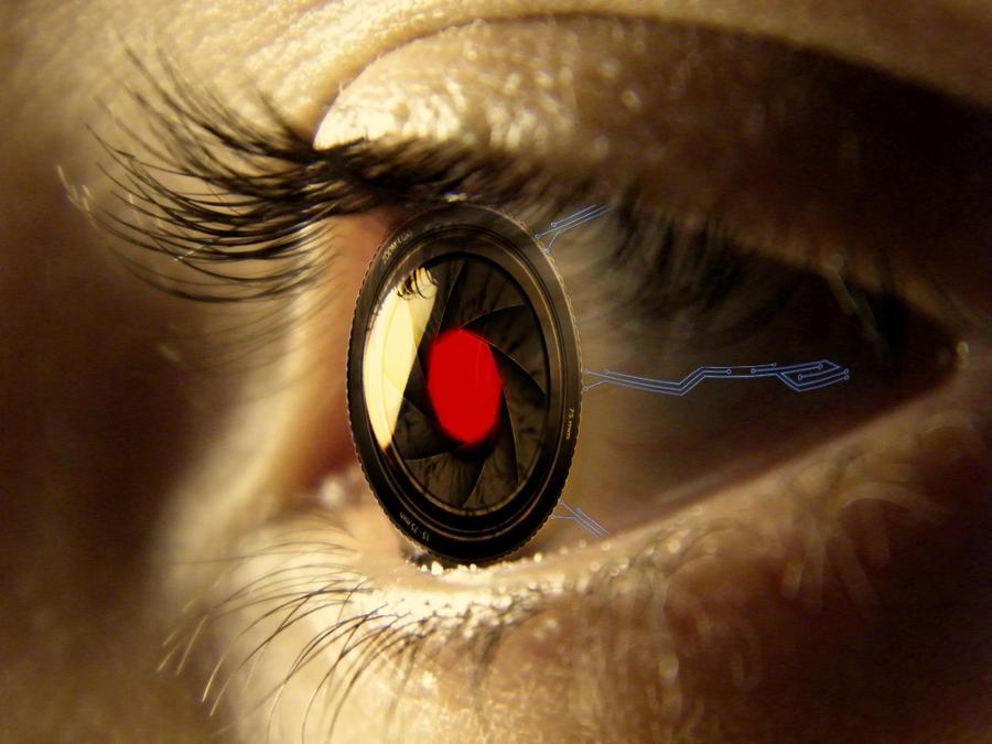 Bionic Eye by StrigoiiMort
