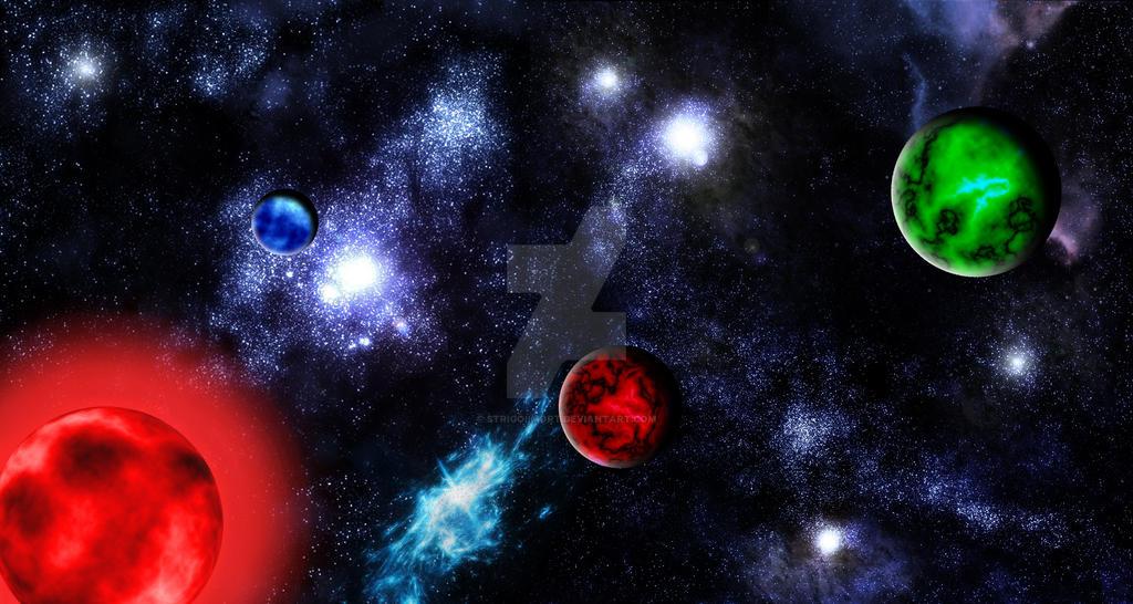 Planetary System Tri by StrigoiiMort