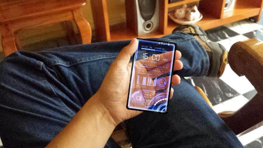 Stark's Smartphone Project by StrigoiiMort