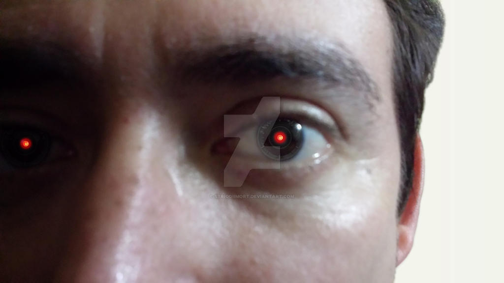 Real Bionic Eye by StrigoiiMort