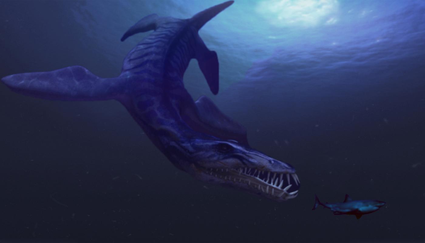 Deep Blue Terror by StrigoiiMort