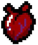 Isaac's Heart Pixel Art