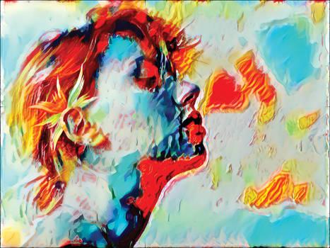 Breathing Out A Fiery Heart