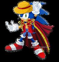 Sonic version One Piece by Zaidylin