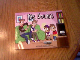 The Nolans Book 1 Cover Proof by joshnickerson