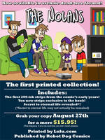 The Nolans Book 1 Cover Ad by joshnickerson