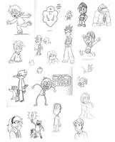 Drawing(s) a Day: 04-6-2013 by joshnickerson