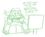 Mikey reacts to the new TMNT trailer by joshnickerson