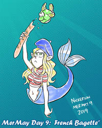 Mermay 2019 - Day 9: French Bagette by joshnickerson