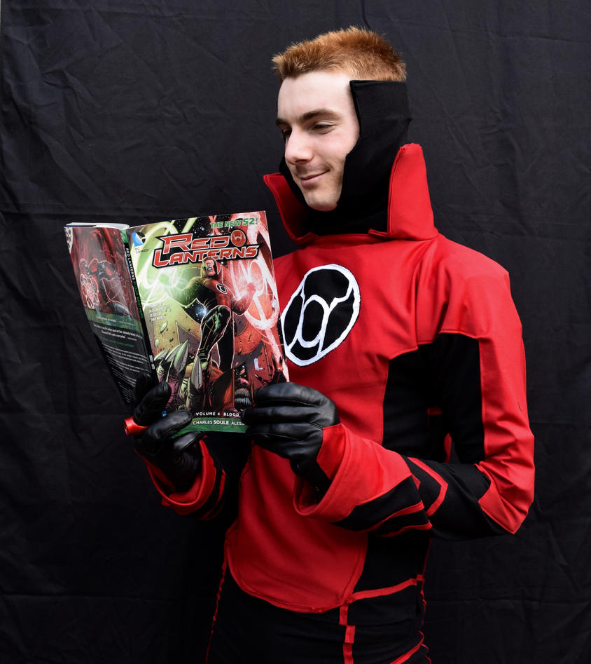 Red Lantern Reading Red Lanterns by Galactic-Reptile on ...