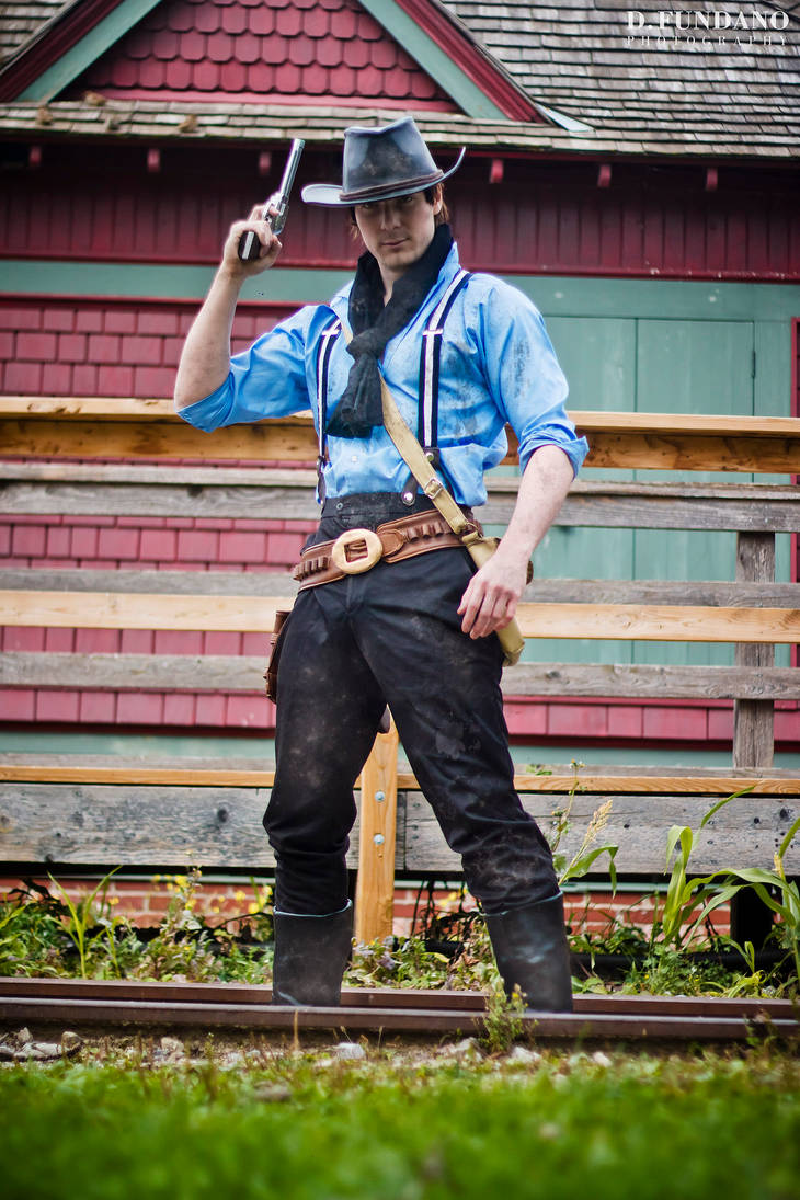 Red Dead Redemption 2 - Arthur Morgan Cosplay by Galactic-Reptile on