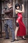 Resident Evil 4 - Leon and Ada Cosplay